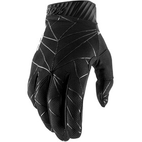 100% Ridefit FA18 Gloves Black/White